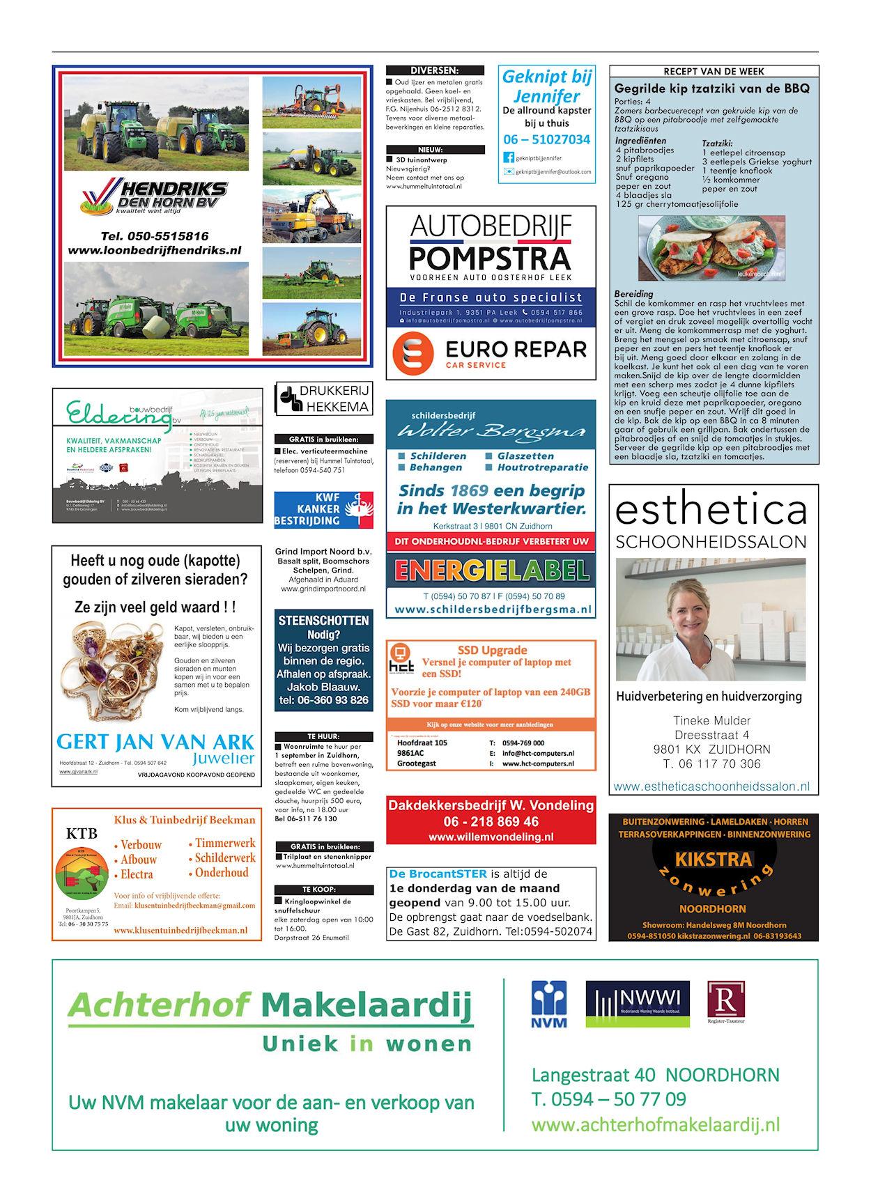Drukkerij Hekkema - Zuidhorn - Zaken die uw aandacht vragen - 2018 week 35 (3)