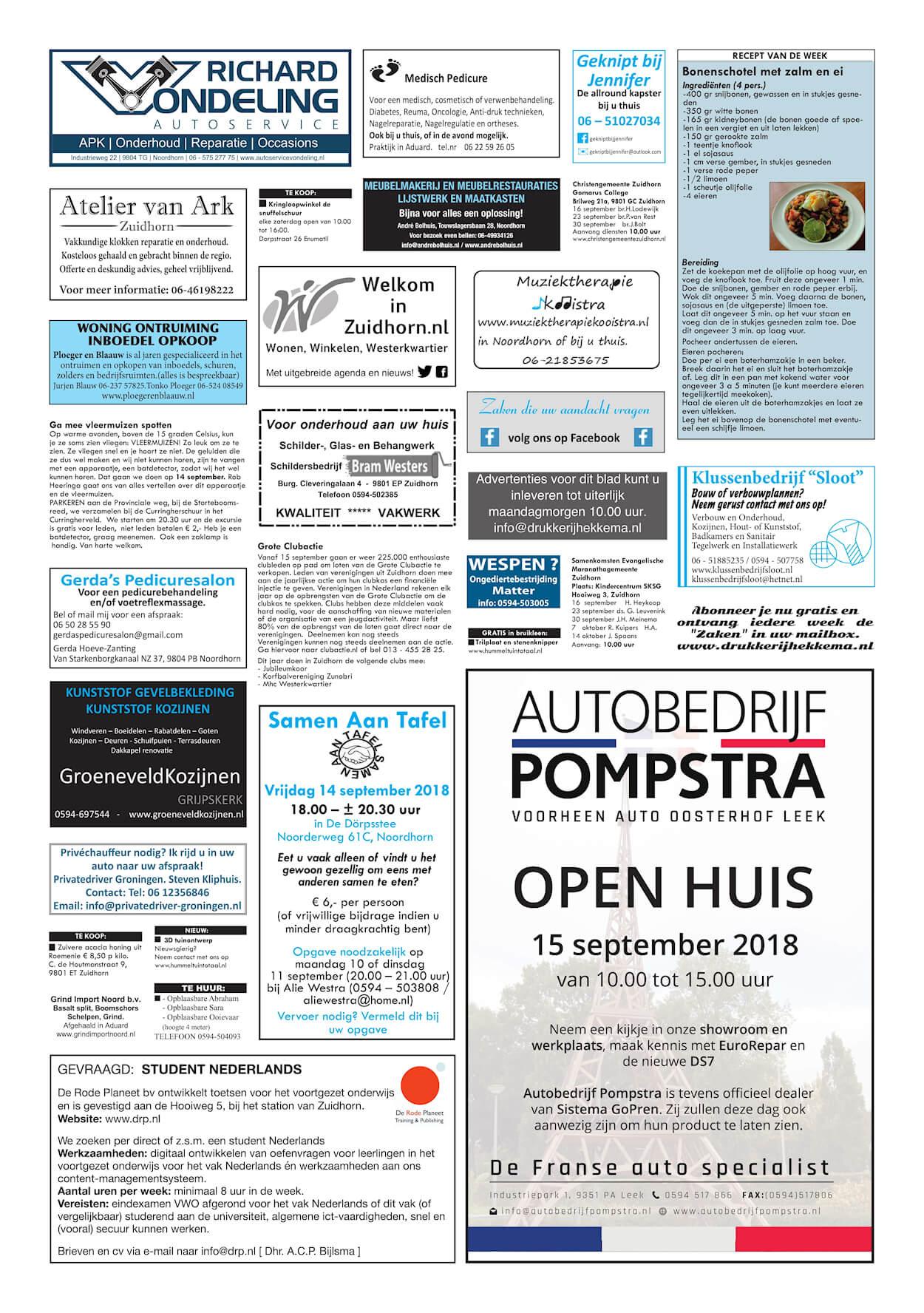 Drukkerij Hekkema - Zuidhorn - Zaken die uw aandacht vragen - 2018 week 37 (4)