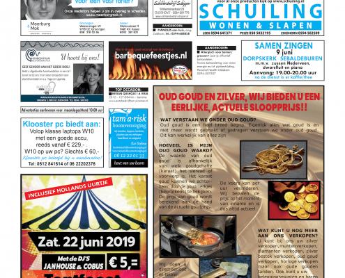 Drukkerij Hekkema - Zuidhorn - Zaken die uw aandacht vragen 2019 week 23