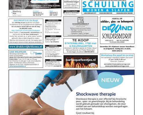 Drukkerij Hekkema - Zuidhorn - Zaken die uw aandacht vragen 2019 week 24