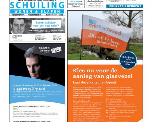 Drukkerij Hekkema - Zuidhorn - Zaken die uw aandacht vragen 2019 week 45