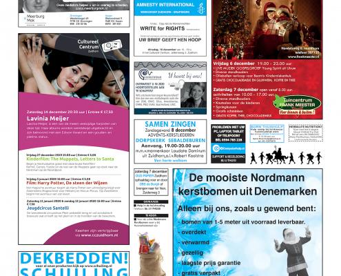 Drukkerij Hekkema - Zuidhorn - Zaken die uw aandacht vragen 2019 week 49